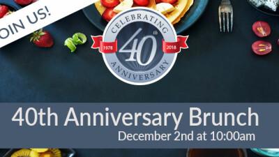 40th Celebration/Holiday Brunch